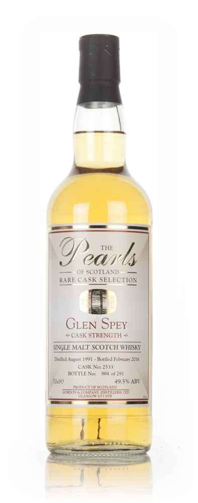 Glen Spey 24 Year Old 1991 (cask 2533) - Pearls of Scotland (Gordon & Company)