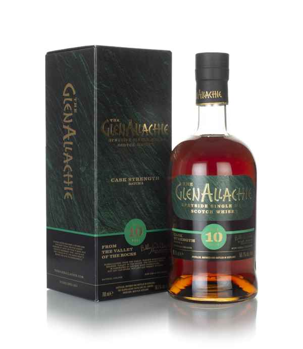 GlenAllachie 10 Year Old Cask Strength - Batch 4