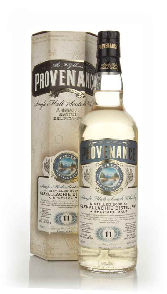 Glenallachie 11 Years Old 2000 (cask 8689) - Provenance (Douglas Laing)