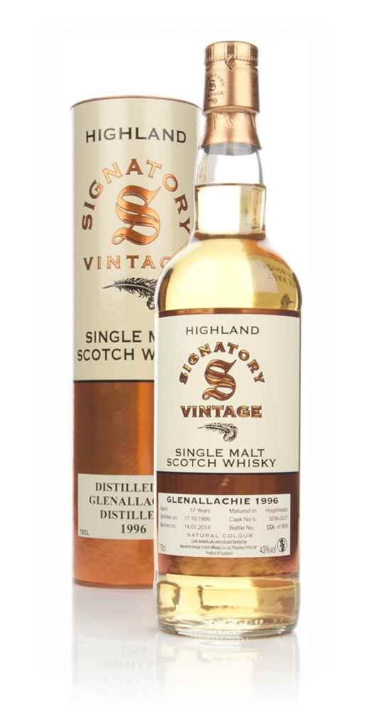 Glenallachie 17 Year Old 1996 - (casks 5236+5237) (Signatory)