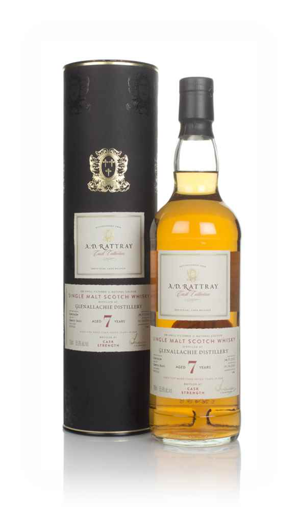 Glenallachie 7 Year Old 2012 (cask 900021) - Cask Collection (A.D. Rattray)