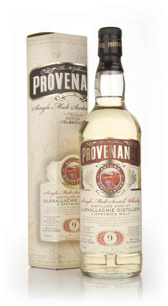 Glenallachie 9 Year Old 2000 - Provenance (Douglas Laing)
