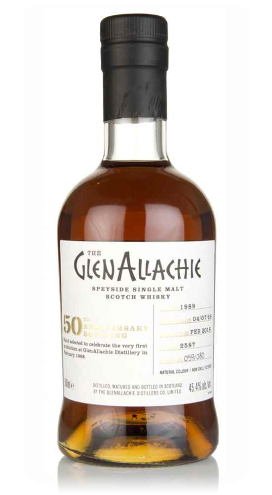 GlenAllachie 28 Year Old 1989 (cask 2587) - 50th Anniversary Bottling
