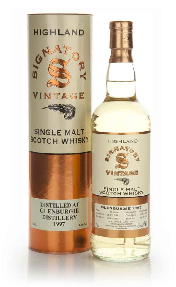 Glenburgie 15 Year Old 1997 (Signatory)