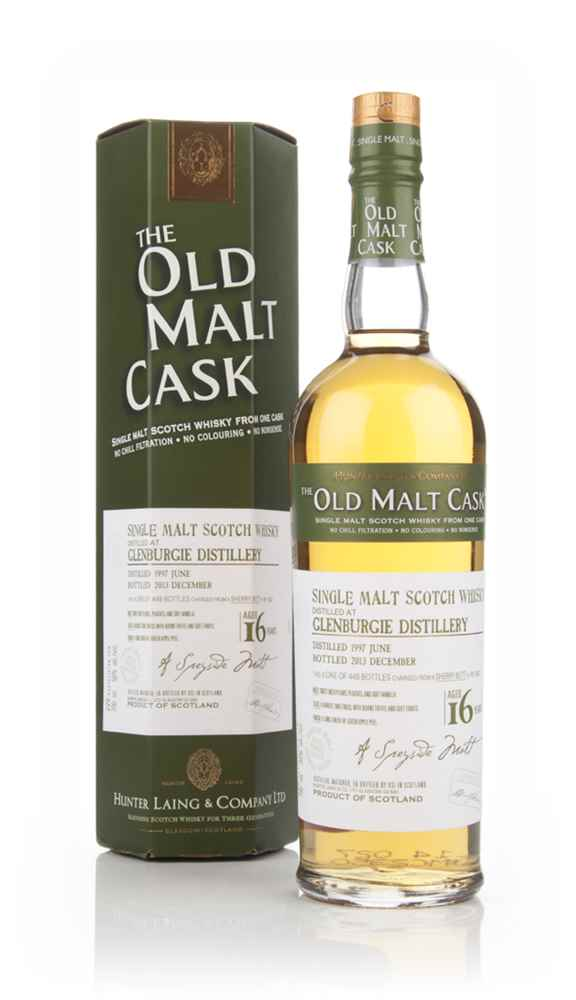 Glenburgie 16 Year Old 1997 (cask 10222) - Old Malt Cask (Hunter Laing)