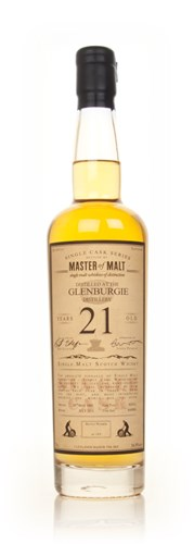 Glenburgie 21 Year Old - Single Cask (Master of Malt)