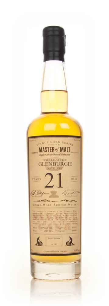 Glenburgie 21 Year Old 1992 - Single Cask (Master of Malt)