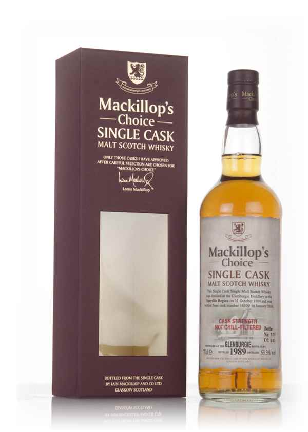 Glenburgie 26 Year Old 1989 (cask 16309) - Mackillop's Choice
