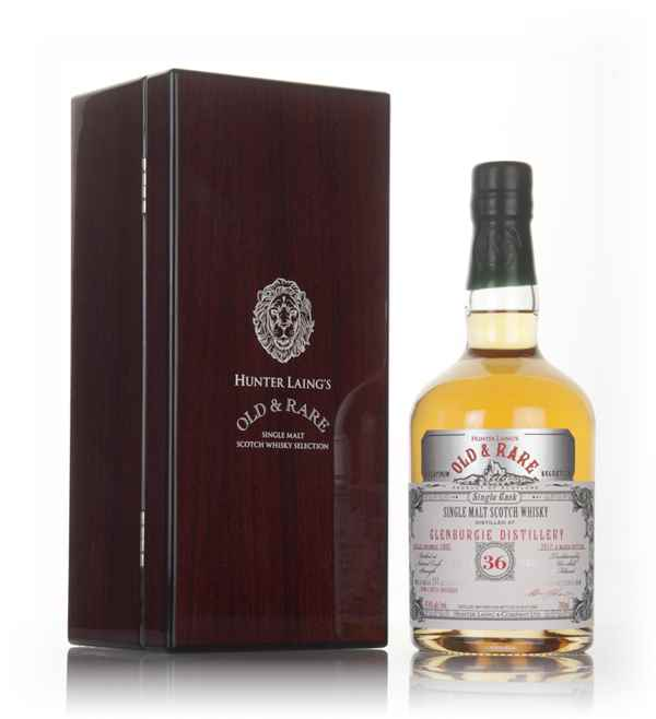 Glenburgie 36 Year Old 1980 - Old & Rare Platinum (Hunter Laing)