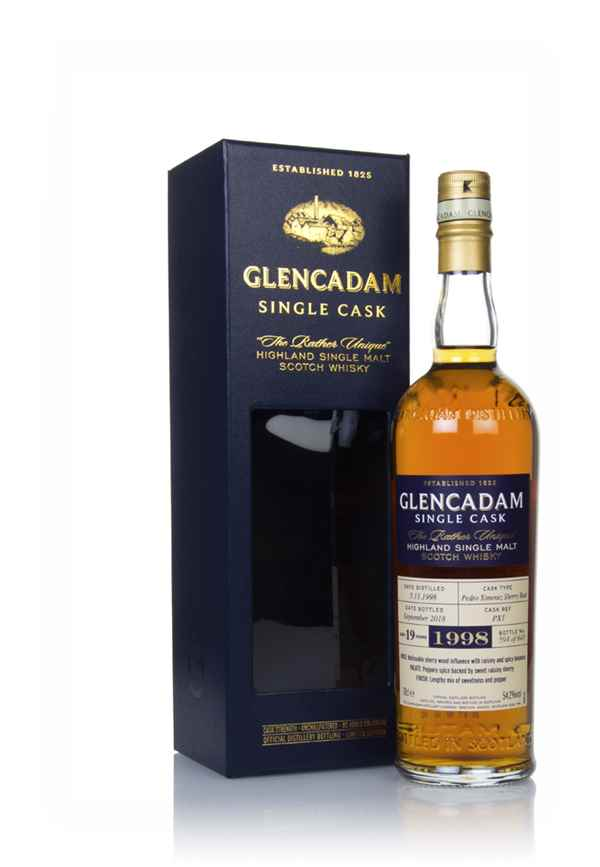 Glencadam 19 Year Old Sherry Cask #PX1