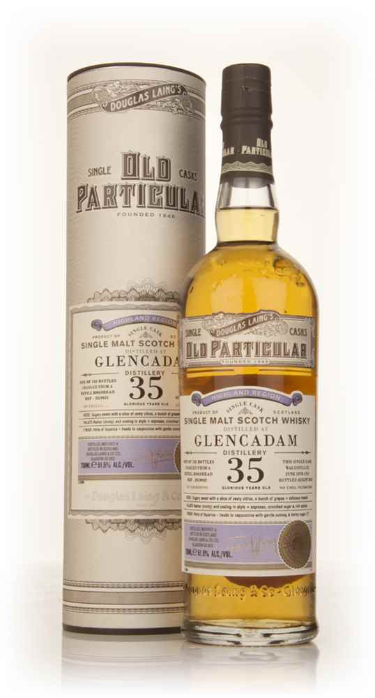 Glencadam 35 Year Old 1978 (cask 9952) - Old Particular (Douglas Laing)