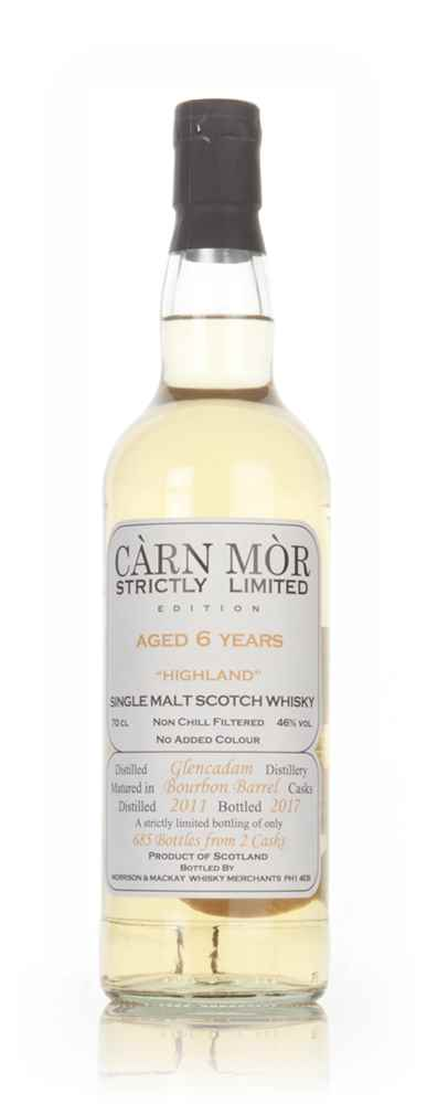 Glencadam 6 Year Old 2011 - Strictly Limited (Càrn Mòr)