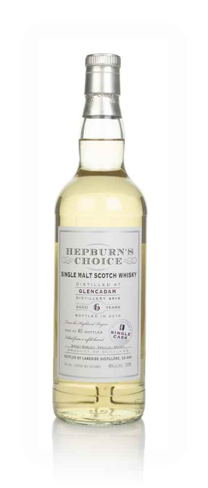 Glencadam 6 Year Old 2012 - Hepburn's Choice (Langside)