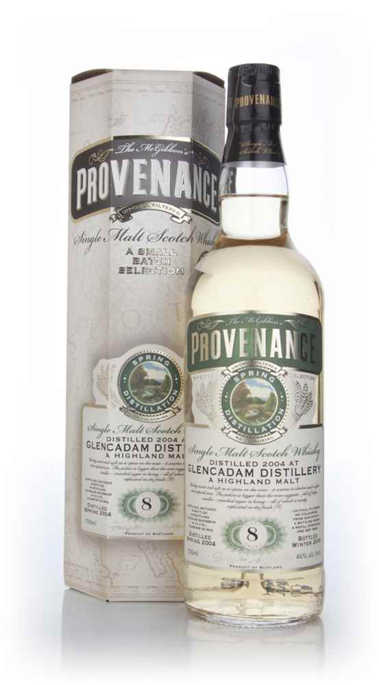Glencadam 8 Year Old 2004 (cask 9484) - Provenance (Douglas Laing)