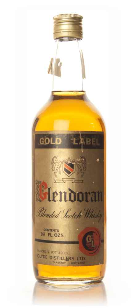 Glendoran Gold Label Blended Scotch Whisky - 1960s