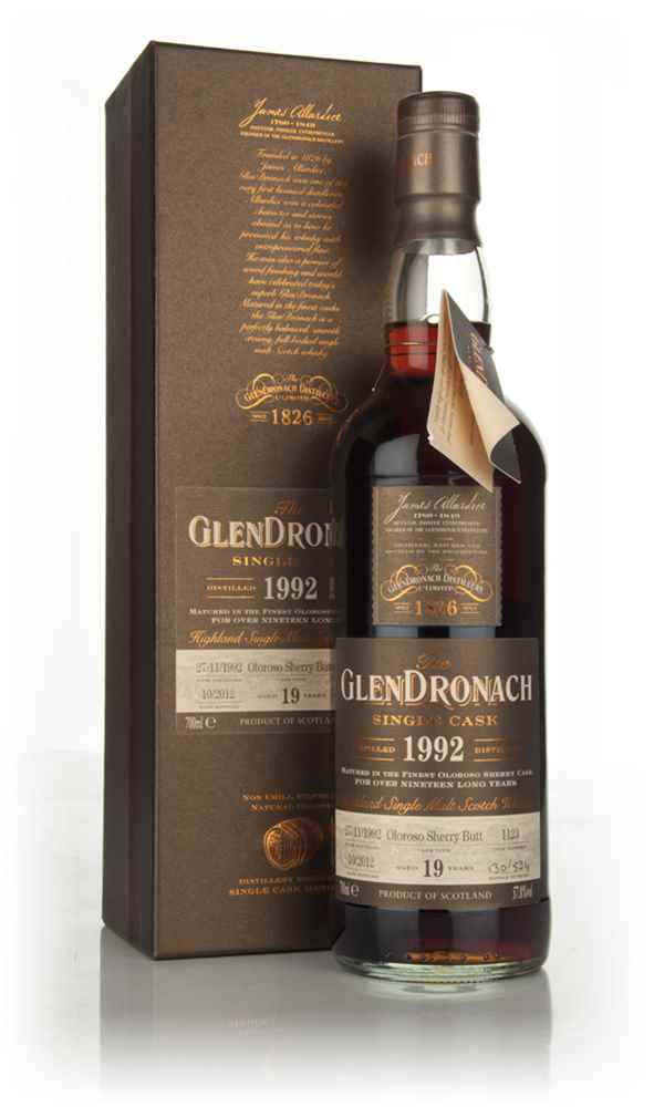 GlenDronach 19 Year Old 1992 - Batch 7