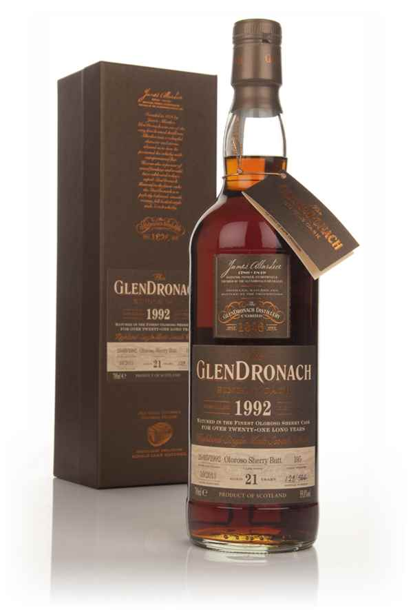 GlenDronach 21 Year Old 1992 (cask 195) - Batch 9