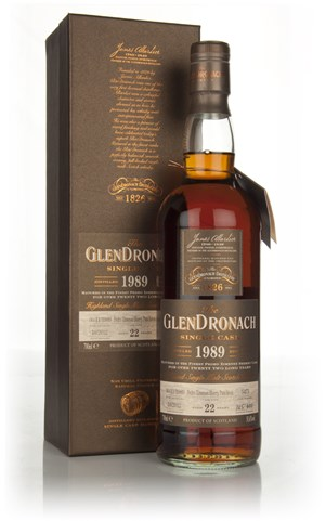 GlenDronach 22 Year Old 1989 - Pedro Ximénez Cask Finish