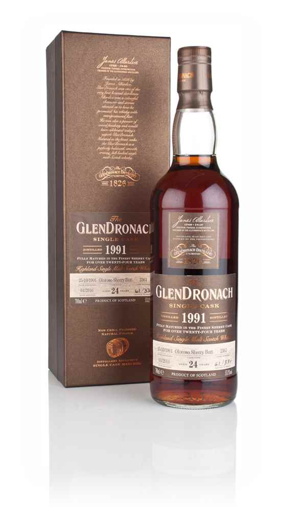GlenDronach 24 Year Old 1991 (cask 2361)
