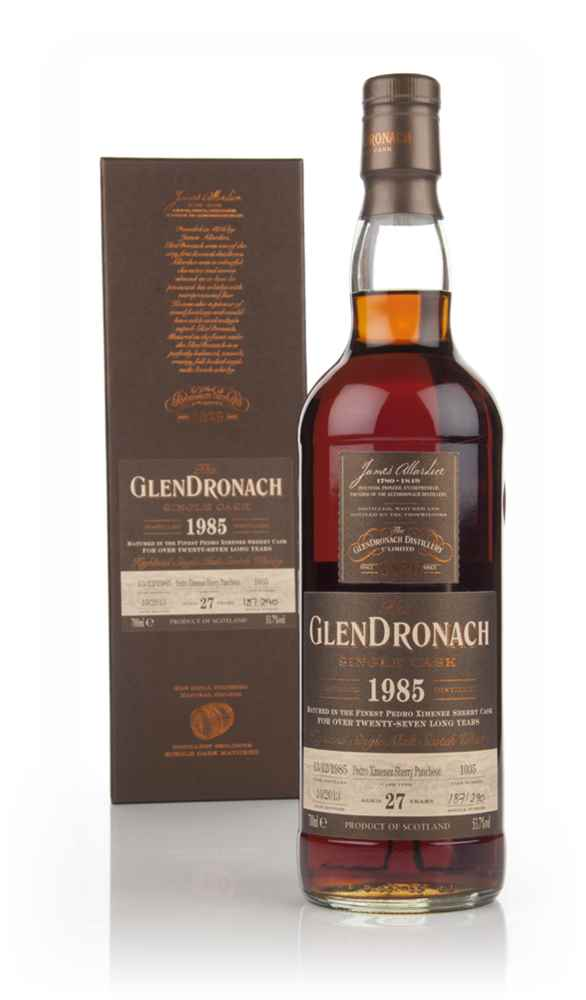 GlenDronach 27 Year Old 1985 (cask 1035) -  Batch 9