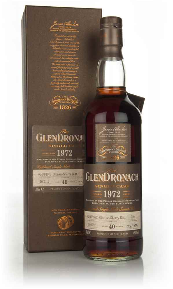 GlenDronach 40 Year Old 1972  - Batch 7