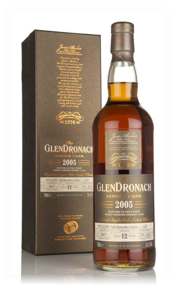 The GlenDronach 12 Year Old 2005 (cask 1451)