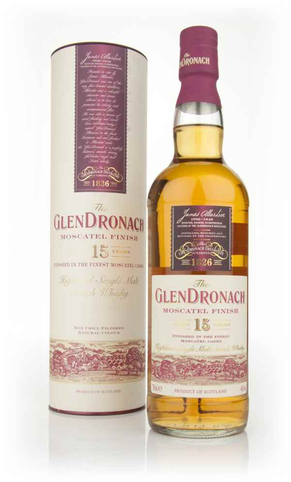 The GlenDronach 15 Year Old - Moscatel Finish