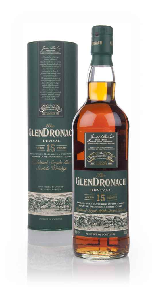 The GlenDronach 15 Year Old Revival (Old Bottling)