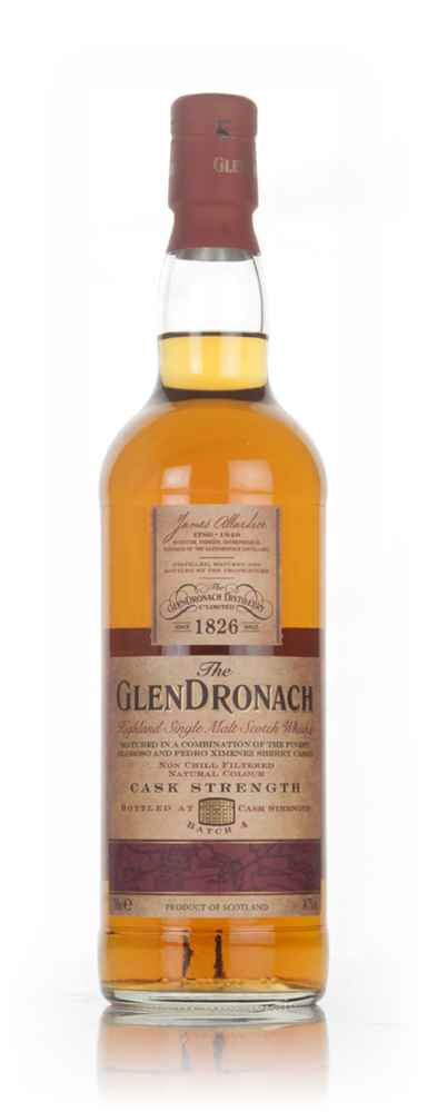 The GlenDronach Cask Strength - Batch 4