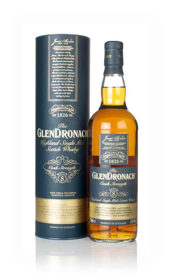The GlenDronach Cask Strength - Batch 7