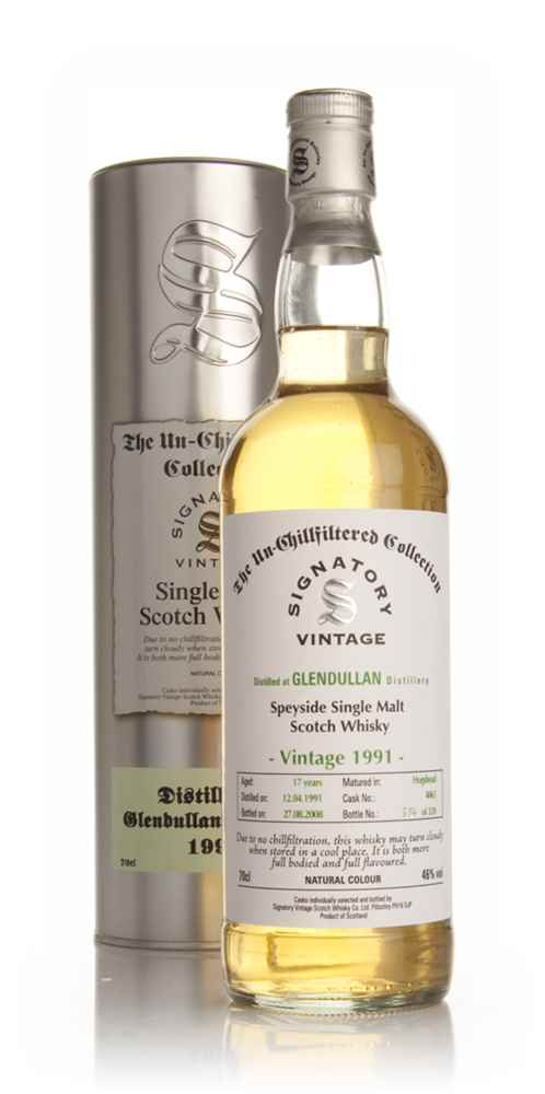 Glendullan 17 Year Old 1991 - Un-Chillfiltered (Signatory)
