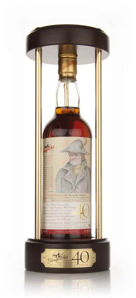 "Glenfarclas 40 Year Old - Scottish Classic ""Alan Breck"""