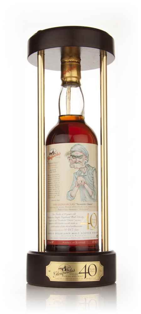 "Glenfarclas 40 Year Old - Scottish Classic ""Eboneezer Shawe"""