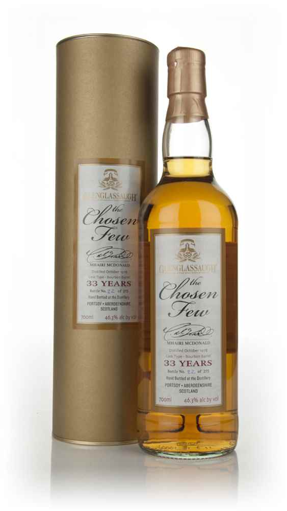 Glenglassaugh 33 Year Old 1978 -  The Chosen Few 'Mhairi McDonald'