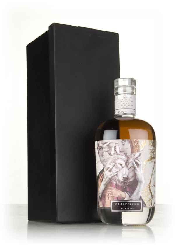 Glenglassaugh 40 Year Old 1972 - The Hunter (Woolf Sung)