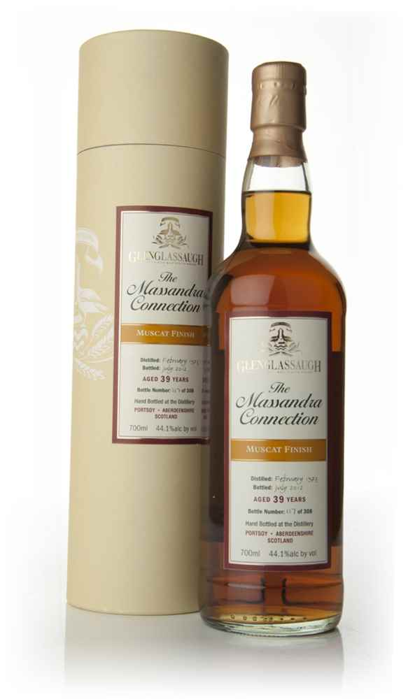 Glenglassaugh 39 Year Old 1973 - The Massandra Connection - Muscat Wine Cask Finish