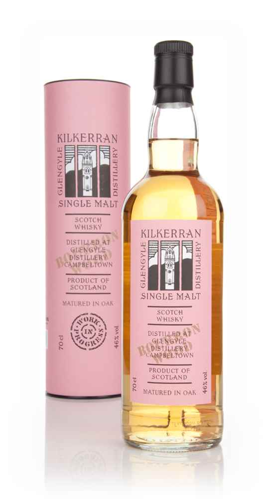 Kilkerran Work In Progress 6th Release - Bourbon Wood