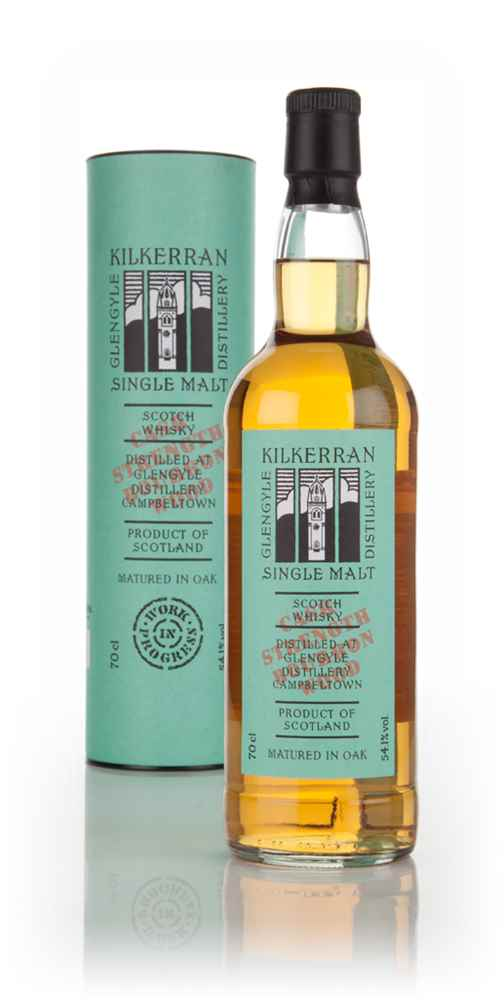 Kilkerran Work In Progress 7th Release - Bourbon Wood Cask Strength