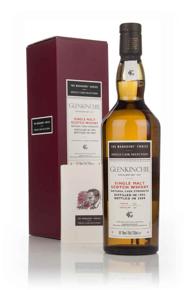 Glenkinchie 1992  - Managers Choice