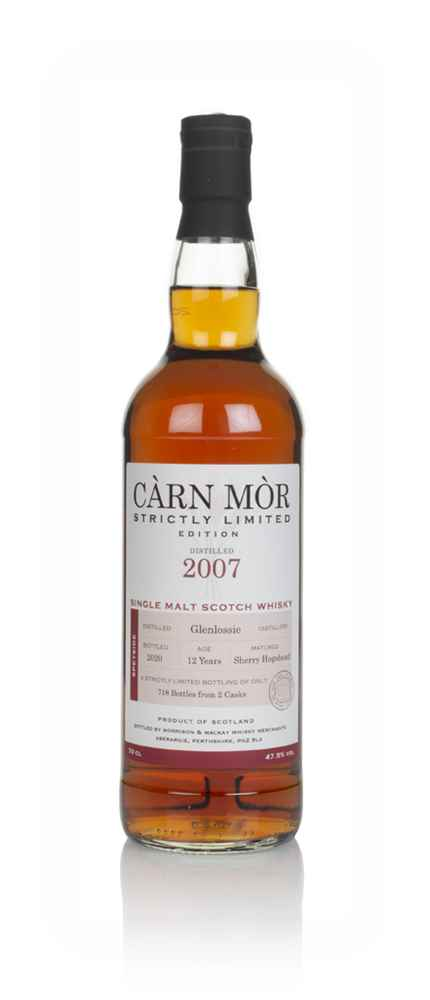 Glenlossie 12 Year Old 2007 - Strictly Limited (Càrn Mòr)