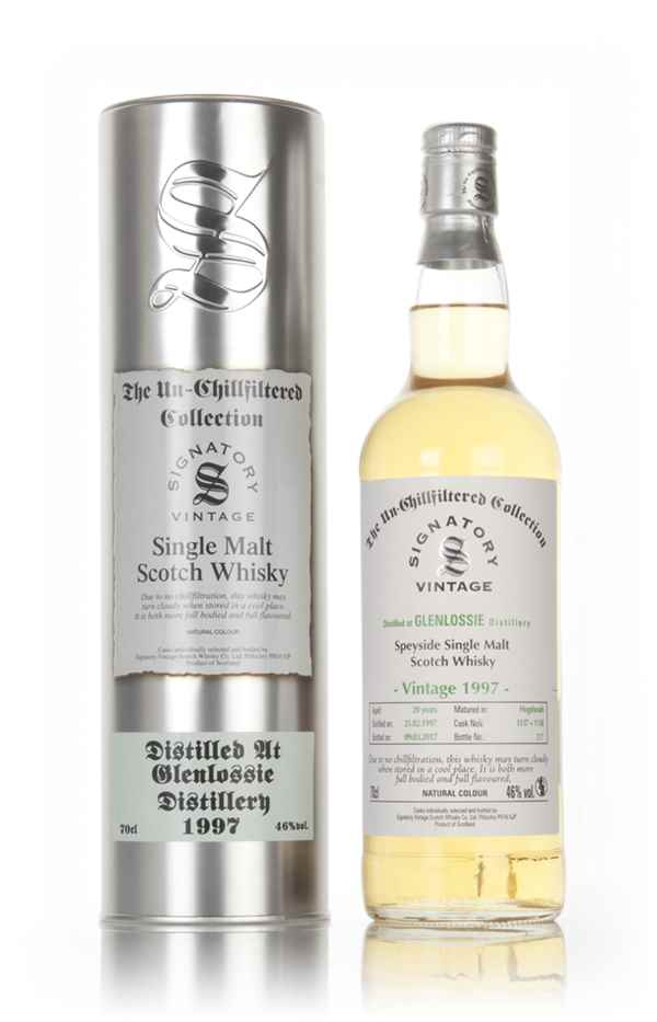 Glenlossie 20 Year Old 1997 (cask 1137 & 1138) - Un-Chillfiltered Collection (Signatory)