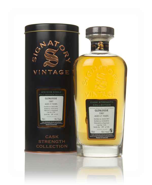 Glenlossie 21 Year Old 1997 (cask 1144) - Cask Strength Collection (Signatory)