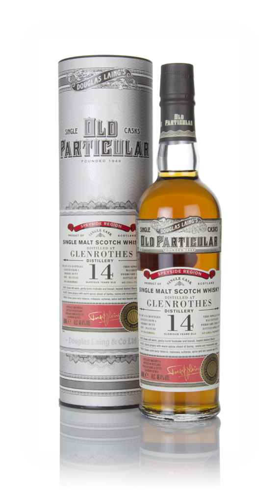 Glenrothes 14 Year Old 2005 (cask 13132) - Old Particular (Douglas Laing)