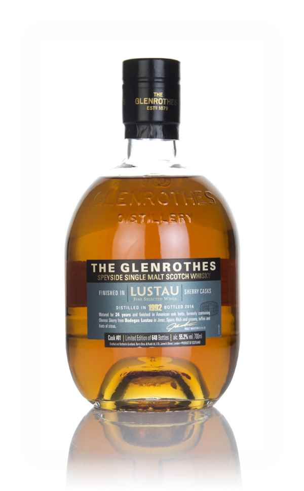 Glenrothes 1992 (bottled 2016) (cask 1) Lustau Sherry Cask Finish - The Wine Merchant's Collection
