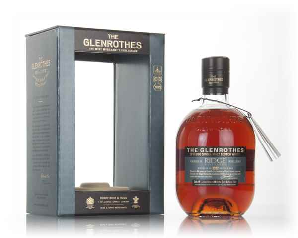 Glenrothes 1992 (bottled 2016) (cask 10) Ridge Vineyards Wine Cask Finish - The Wine Merchant's Collection