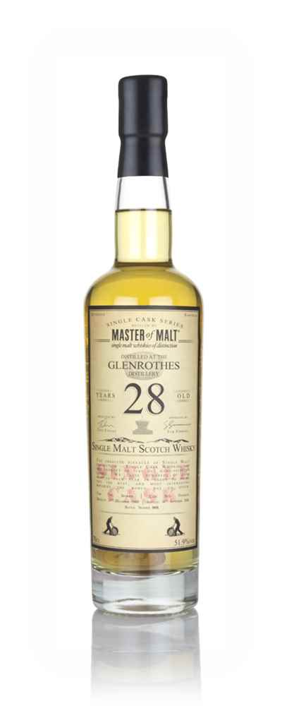 Glenrothes 28 Year Old 1989 - Single Cask (Master of Malt)