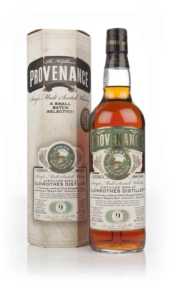 Glenrothes 9 Year Old 2004 (cask 10191) - Provenance (Douglas Laing)