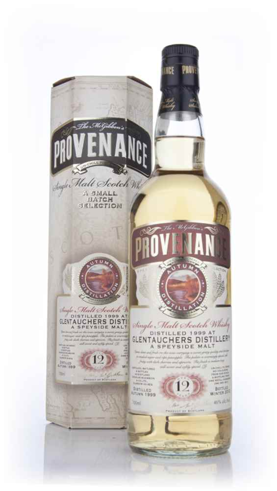 Glentauchers 12 Year Old 1999 (cask 8014) - Provenance (Douglas Laing)