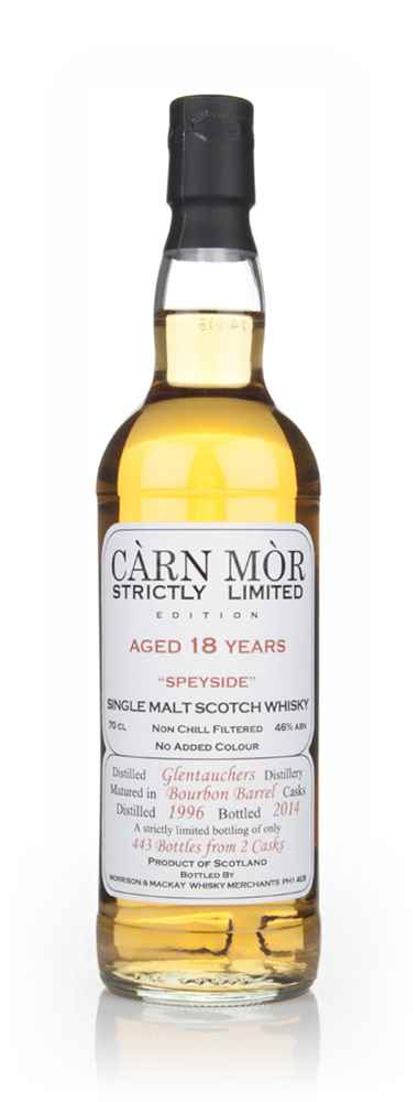 Glentauchers 18 Year Old 1996 - Strictly Limited (Càrn Mòr)
