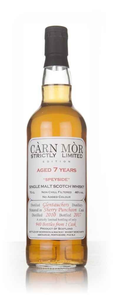 Glentauchers 7 Year Old 2010 - Strictly Limited (Càrn Mòr)
